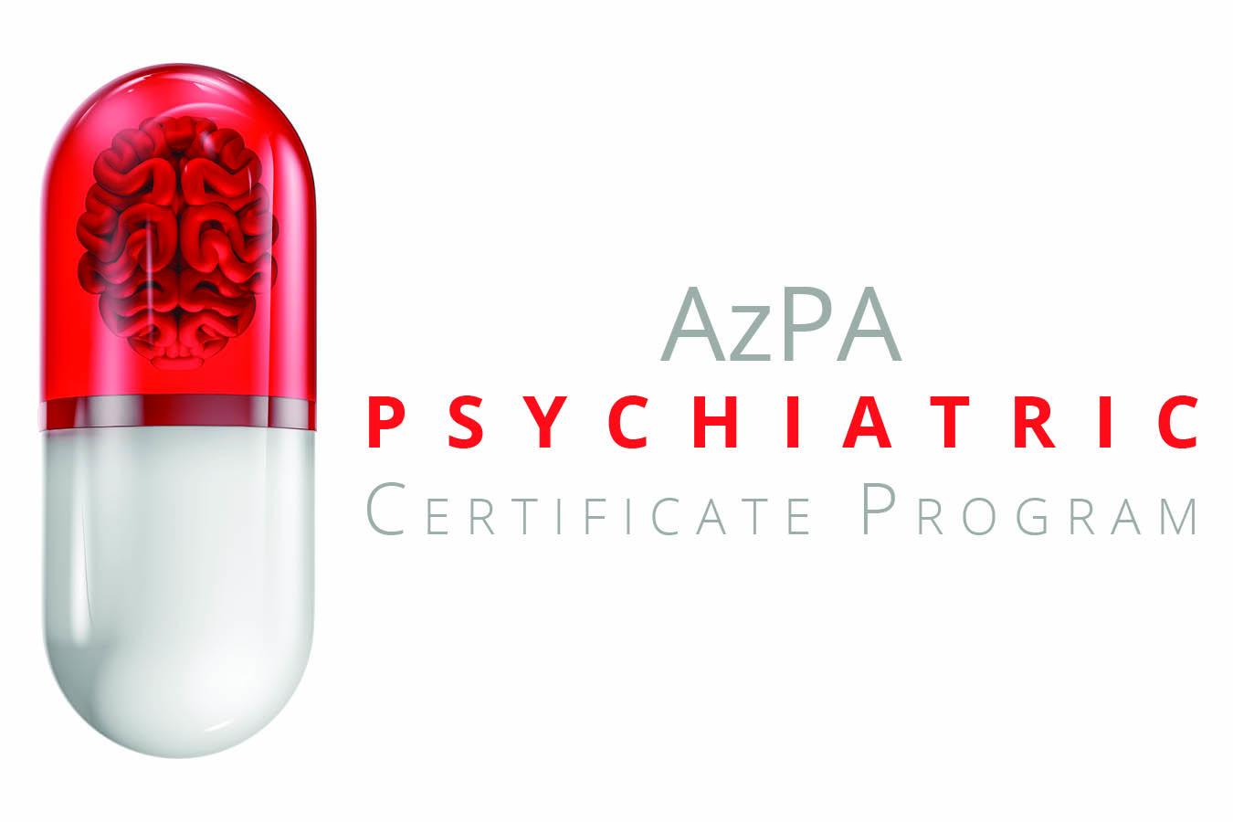 Azpa Psychiatric Certificate Training Program Arizona Pharmacy